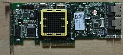 Adaptec Asr-5805/512mb 8 Port PCI-e SAS Controller RAID Card