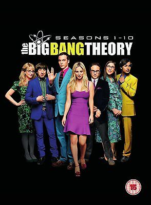 THE BIG BANG THEORY Stagioni 1-10 Serie Complete BOX 23 DVD in Inglese NEW .cp