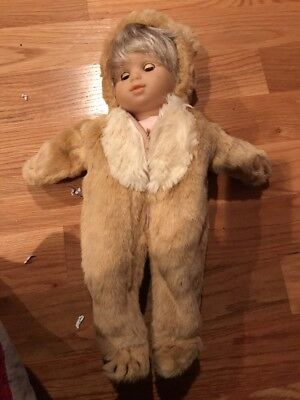 American Girl Doll Bitty Baby Bear Suit New