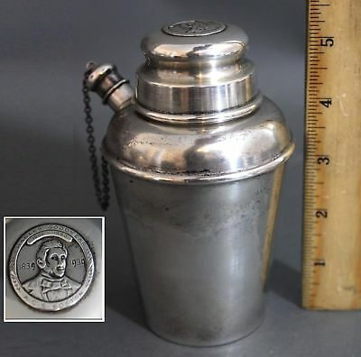 Antique Reed & Barton Sterling Silver Cocktail Shaker Charles Goodyear Rubber Co