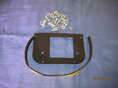 Mg   Mgb Roadster Or Gt Front Pedal Box Bolt Kit And Foam  Gaskets   Xy12 ***