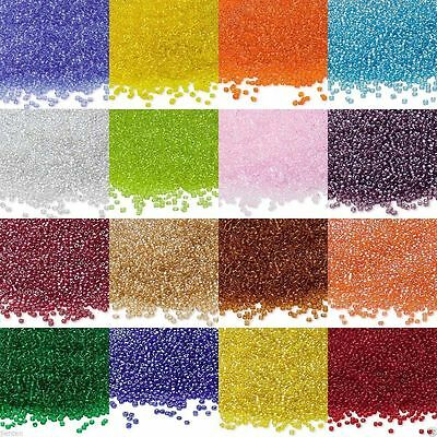 4000Pcs Round Czech Glass Seed Loose Spacer Beads Jewelry Making DIY 2mm