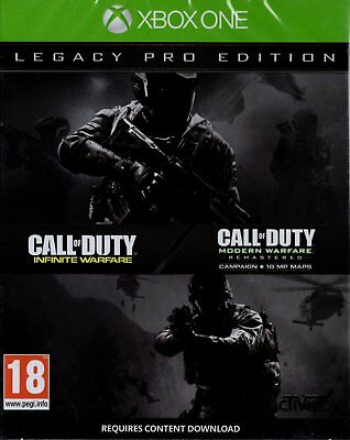 Call of Duty: Infinite Warfare Legacy PRO Edition (Xbox One) NEW SEALED