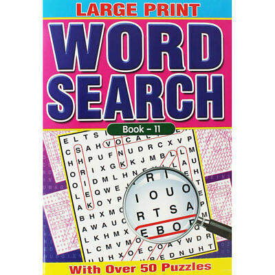 Large Print Wordsearch - Assorted, Non Fiction Books, Brand New