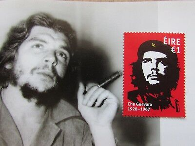 Che Guevara Single  Irish €1 Stamp.un Mounted Mint Condition,issued Oct 2017.