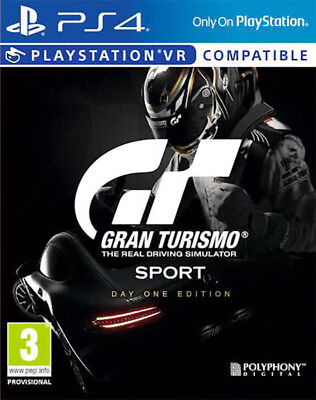 Gran Turismo Sport - Day One Edition (PS4)  NEW AND SEALED - QUICK DISPATCH