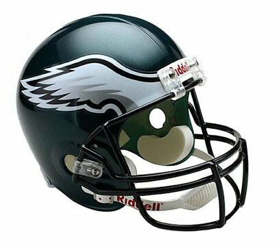 NFL Football Helm Philadelphia Eagles Full Size Helmet Riddell American