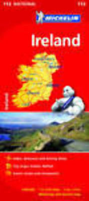 Ireland Michelin National Map 712 Motoring and Tourist 2016