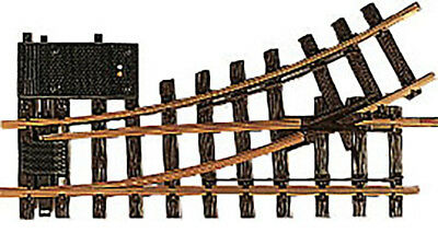 LGB G Scale Track System - R1 30-Degree Electric Turnout 4.25ft Dia. Left Hand