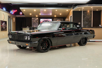 1964 Chevrolet Chevelle Pro Touring EMA Build! Supercharged LS 6.2L V8, T56 6-Speed, Z06 Brakes, Chassisworks, A/C
