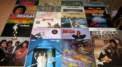 23x LPs - POP !!! Shaky, Beach Boys, Abba, Bee Gees, Boney M., Smokie usw...