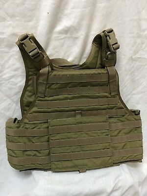 Eagle Industries Plate Carrier w/Cummerbund Khaki L/XL SEALs SFLCS MLCS