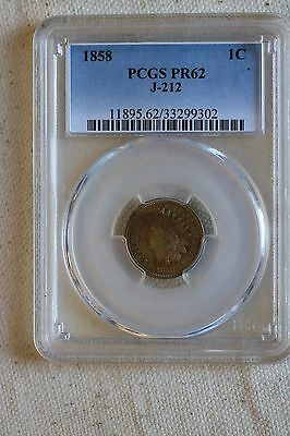 1858 1C J-212 (Proof) Pattern Coin