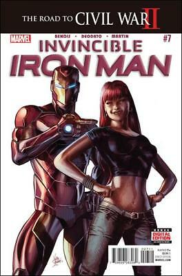 Marvel - Invincible Iron Man #7 - Key Issue 1St Appearance Riri Williams - Nm