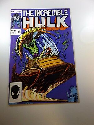 Incredible Hulk #331 VF condition Huge auction going on now!