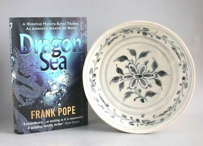 Vietnamese 15th Century Blue & White Porcelain Dish - Hoi An Hoard (with book)