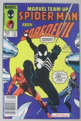 Marvel Team-Up #141 Spider-Man & Daredevil Tied For 1St Black Costume