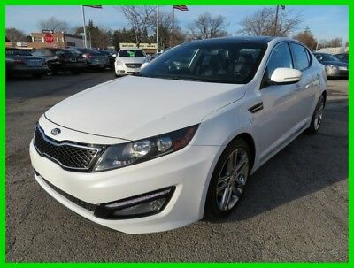2013 Kia Optima SX 2013 SX Used Turbo 2L I4 16V Automatic FWD Sedan clean clear title carfax power