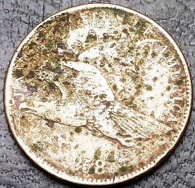 1858 U.S. Flying Eagle Small Cent - Free Combined Shipping