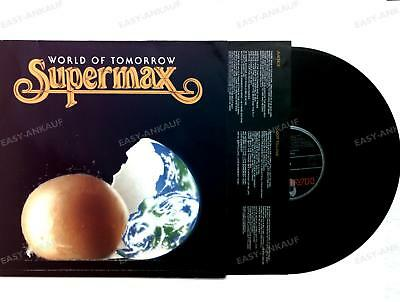 Supermax - World Of Tomorrow - GER LP 1990 + Innerbag /3