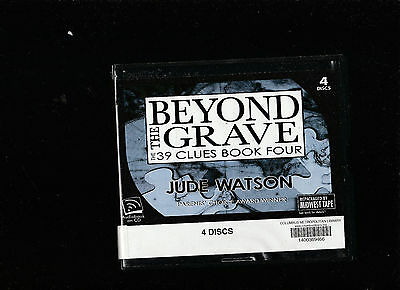 Jude Watson/The 39 clues 04 Beyond The Grave 4 Audio CD Set Cased