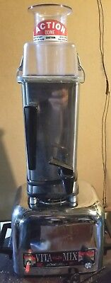 Vita-Mix 3600 Plus Stainless Steel Heavy Duty Blender w Instant Reverse NICE !!