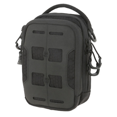Maxpedition MXCAPBLK CAP Compact Admin Pouch Black Polymer Clips