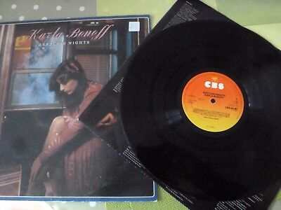 A Karla Bonoff Long Play Vinyl Record - Restless Nights