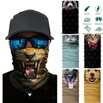 Skull Cycling Motorcycle Head Scarf Neck Warmer Face Mask Ski Balaclava Headband