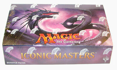 Magic Iconic Masters - Booster Display Englisch/English
