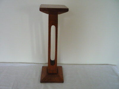 Vintage Art Deco Oak Wooden Millinery Hat Stand Shop Display Chic Interiors