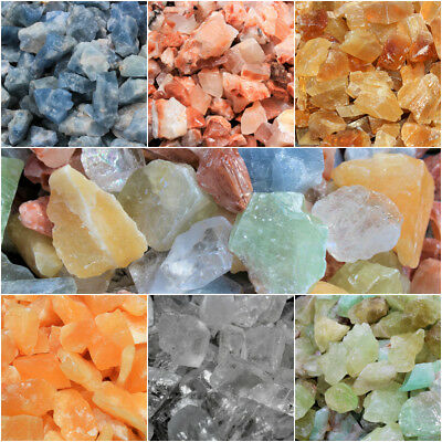 1/4 lb Lots Wholesale Bulk Calcite Stones: Choose Type (Crystal Healing Reiki)