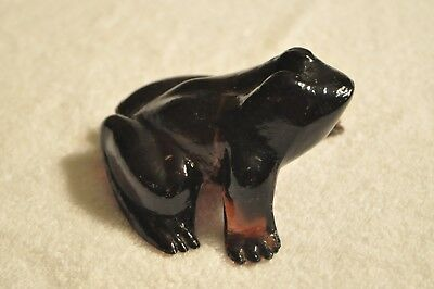 Purple Glass Frog.  Beautiful!  Fenton?  Very unusual color in this style!