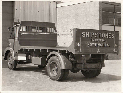 Austin Truck Shipstones Brewers Nottingham, Period Photograph.