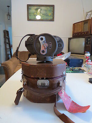 Bell & Howell Filmo 70D 16mm Movie Camera SS Cleveland Presidents Line 1955 Ship