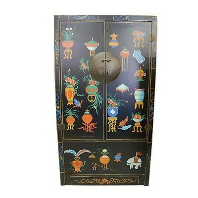 Chinese Antique Reproduction Cabinet Armoire TX145