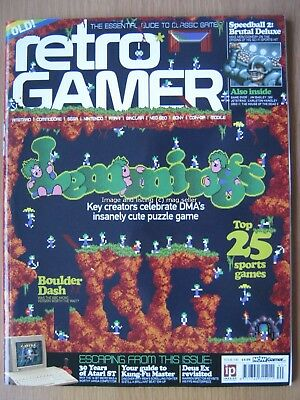 Retro Gamer Load 160 Lemmings Speedball 2 Boulder Dash Kung-Fu Master Atari ST