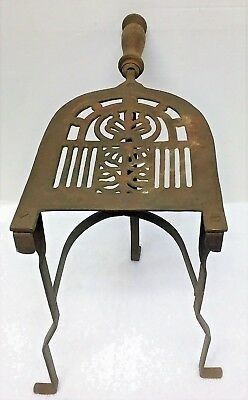 Antique Fireplace Hearth Trivit / Pot Warming Stand / Fireplace Tools