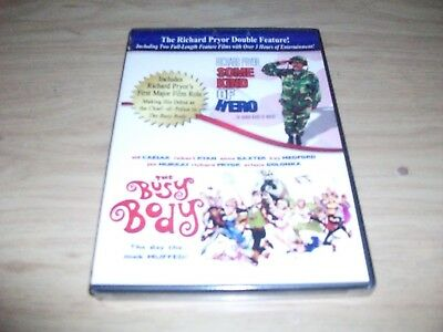 Richard Pryor Double Feature: Some Kind Of Hero & The Busy Body! Brand New!!!