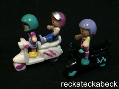 1994 Polly pocket SCOOTER FUN - OUT N ABOUT COLLECTION  100% complete RARE