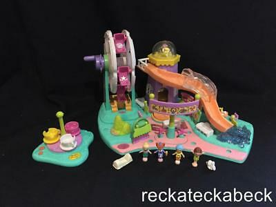 1996 Polly pocket RIDES AND SURPRISES  100% COMPLETE  RARE