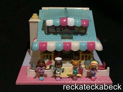 1993 polly pocket Pizzeria  POLLYVILLE  100% complete  **lights up**  RARE