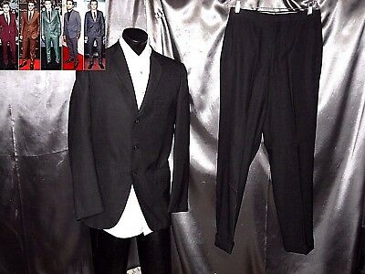 38L true vtg 50s suit rockabilly hollywood atomic fleck 1950s mad mod men EUC