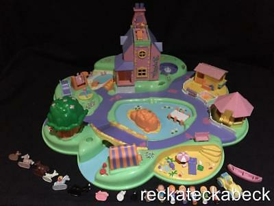1991 Polly pocket DREAM WORLD  100% complete VERY RARE all figures and animals