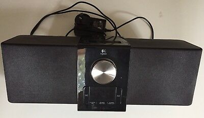 Logitech docking station Suit Apple iPod / iPhone. Speaker alarm 30 Pin Connect