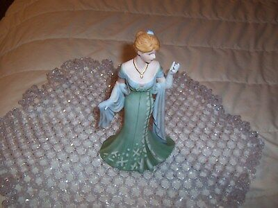 2005 Homco Home Interiors  porcelain lady figurene called  AMELIA