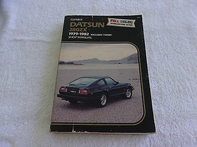 Clymers 1979 - 1982 Datsun 280 Zx Shop Manual Used