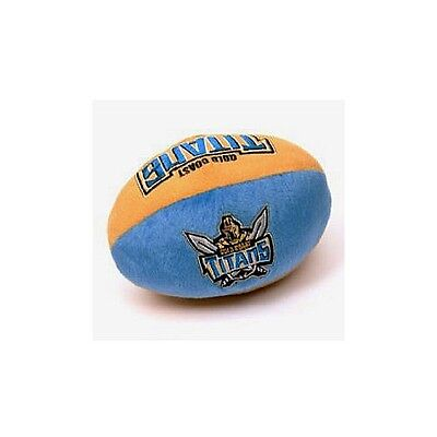 NRL Gold Coast Titans Plush Baby Ball