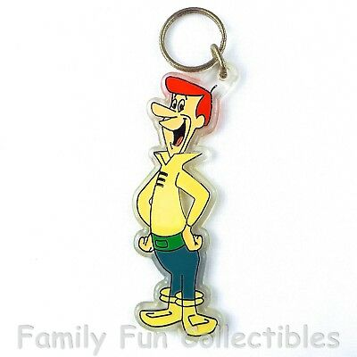"""JETSONS~1990 Nancy Sales~Key Chain Ring~George~""""NOT FOR RETAIL SALE""""~NEW NOS"""
