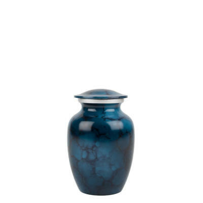 Perfect Memorials Small Washed Denim Brushed Cremation Urn